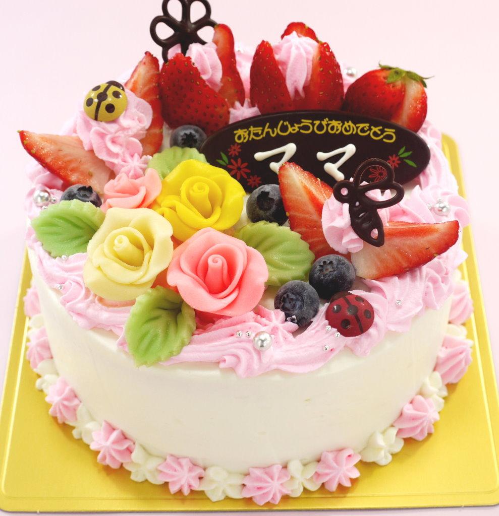 お花 ケーキ