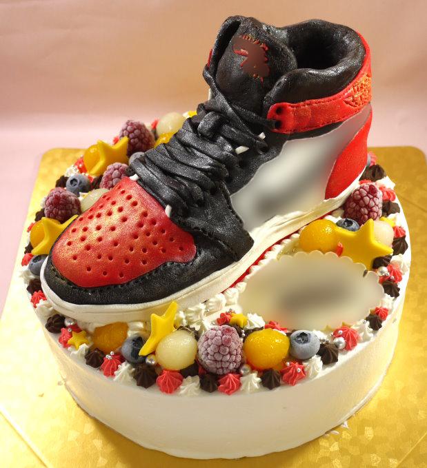 靴 立体 ケーキ