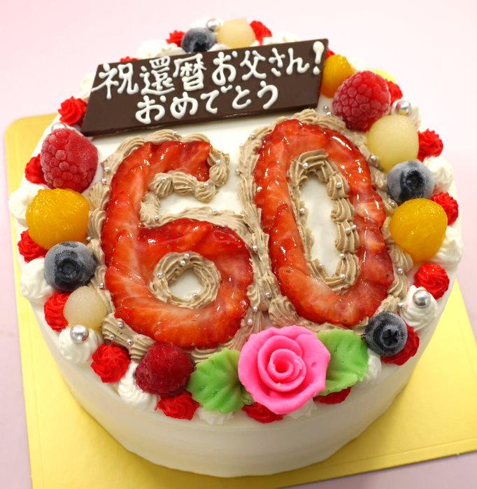 数字 ケーキ