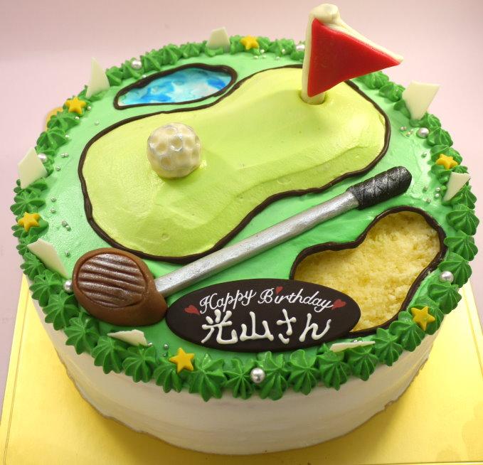 ゴルフ ケーキ