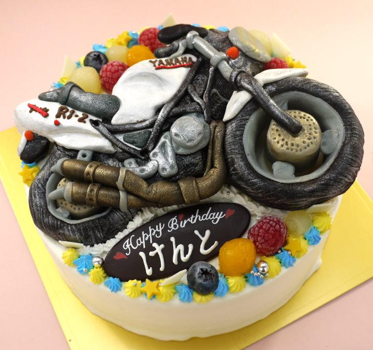 バイク 立体 ケーキ