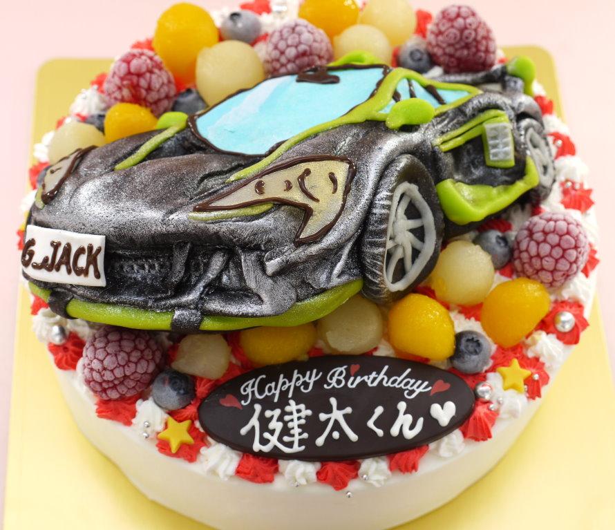 フォートナイト 車 立体 ケーキ