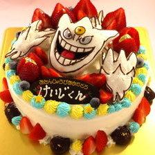 立体3Dケーキ【スポンジ仕上】【6号~】