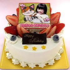 合成できる写真ケーキ【4号~】