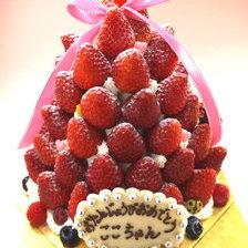 【冬季限定】苺のクロカンブッシュ【6号・8号】