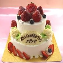 2段ケーキ【下5号~】