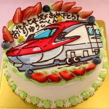イラストケーキ【のりもの】【5号~】
