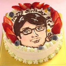 似顔絵ケーキ1体描【6号~】