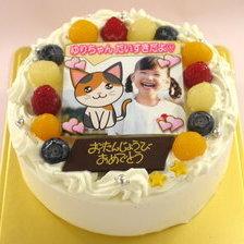 合成できる写真ケーキ【5号~】
