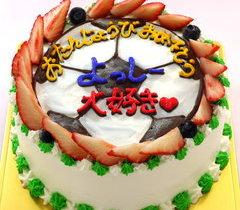 イラストケーキ【スポーツ】【5号~】