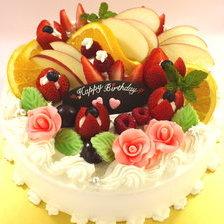 フルーツのケーキ♪