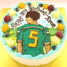 【イラストケーキ】東京都国立市からご注文いただきました