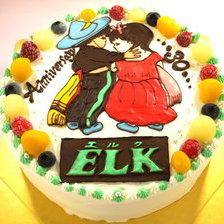 【イラストケーキ】岩手県宮古市からご注文いただきました