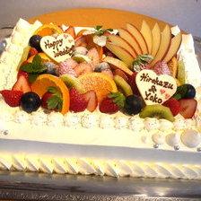 【岩手県盛岡市】フルーツたくさんのウェディングケーキをお作りしました