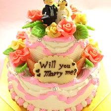 プロポーズ用ケーキ