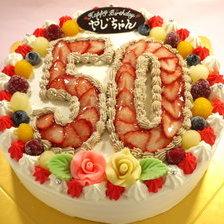 【数字ケーキ】群馬県桐生市からご注文いただきました
