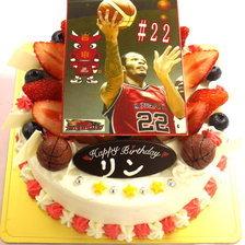 【写真ケーキ】ビッグブルズ・リン選手のケーキをお作りしました!
