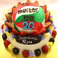 立体3Dケーキ