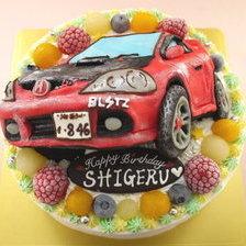 【全国配送】車の立体ケーキを作りました①