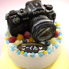 カメラの立体ケーキ【6号~】