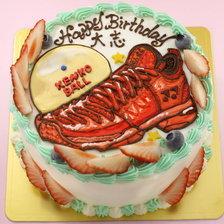 靴のイラストケーキ【5号~】