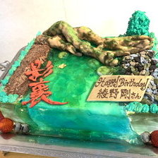 【影裏】綾野剛さんの誕生日ケーキを作りました!
