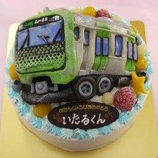 【全国配送】電車の立体ケーキをお作りしました