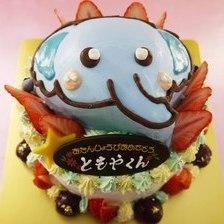 【店頭受取】かわいい象の立体ケーキを作りました!