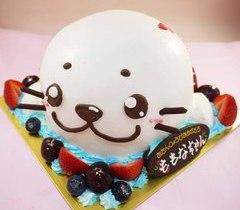 アザラシのドーム型立体ケーキ【5号~】